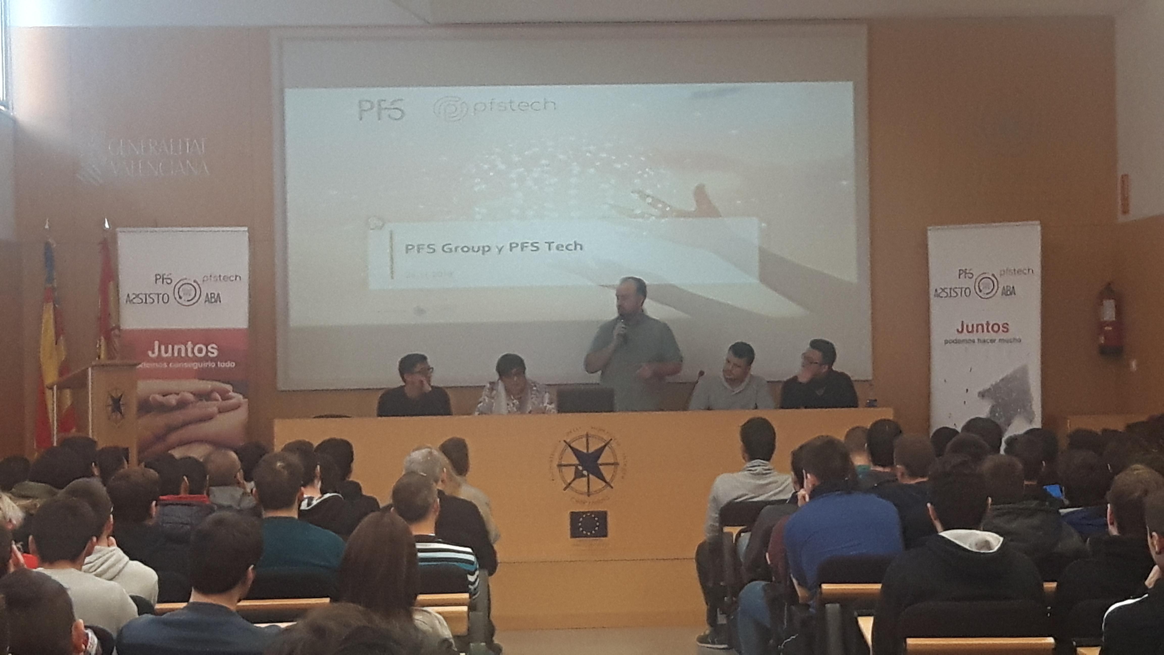 charla empresa PFS tech